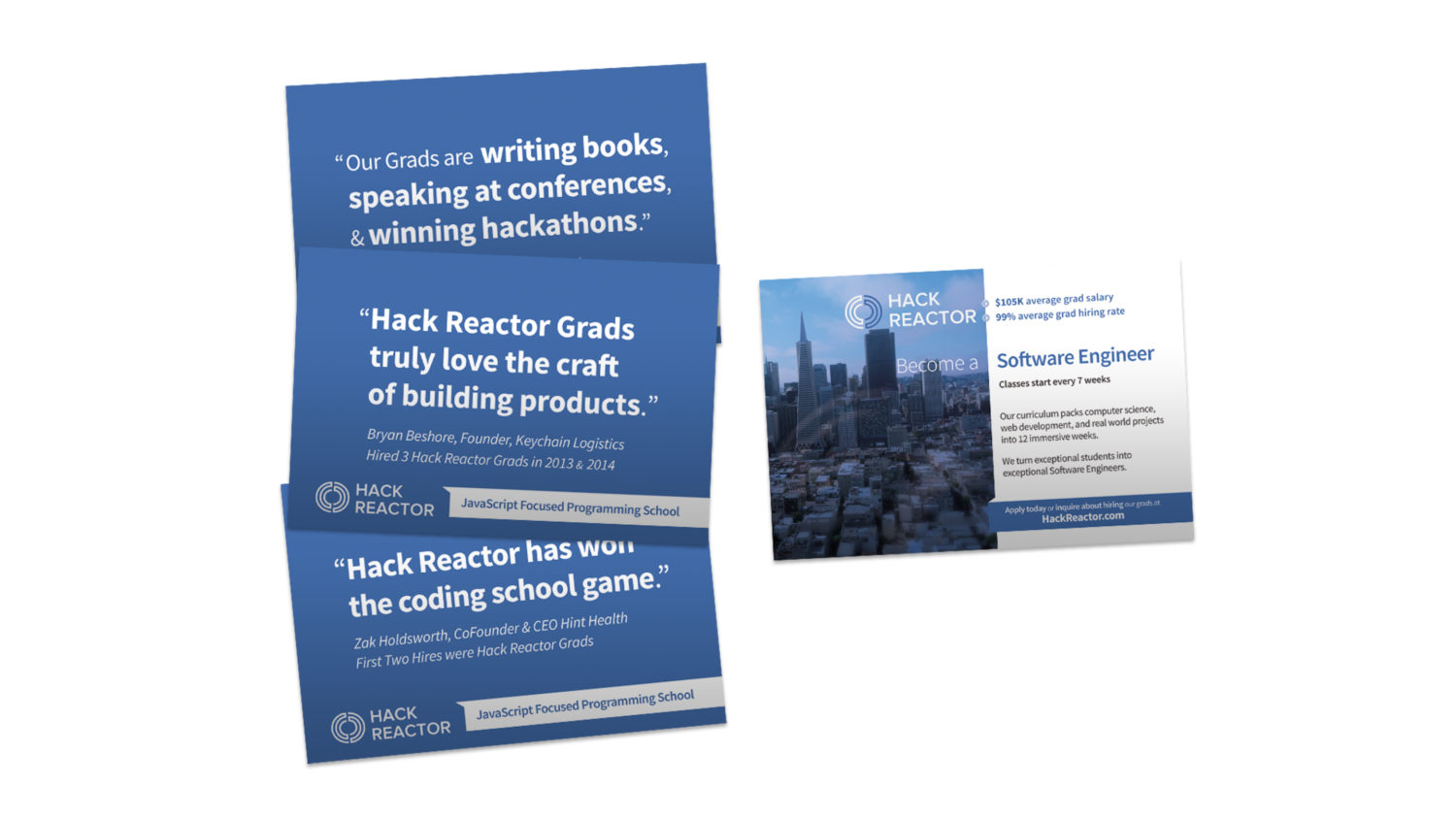 Hack Reactor Direct Mail Postcard Image