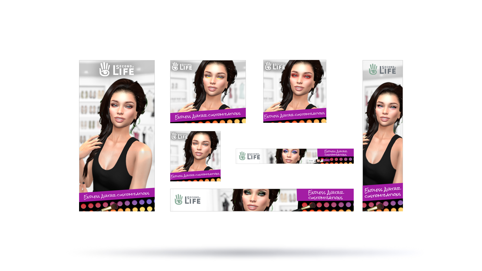 Second Life Customization Ad Banners